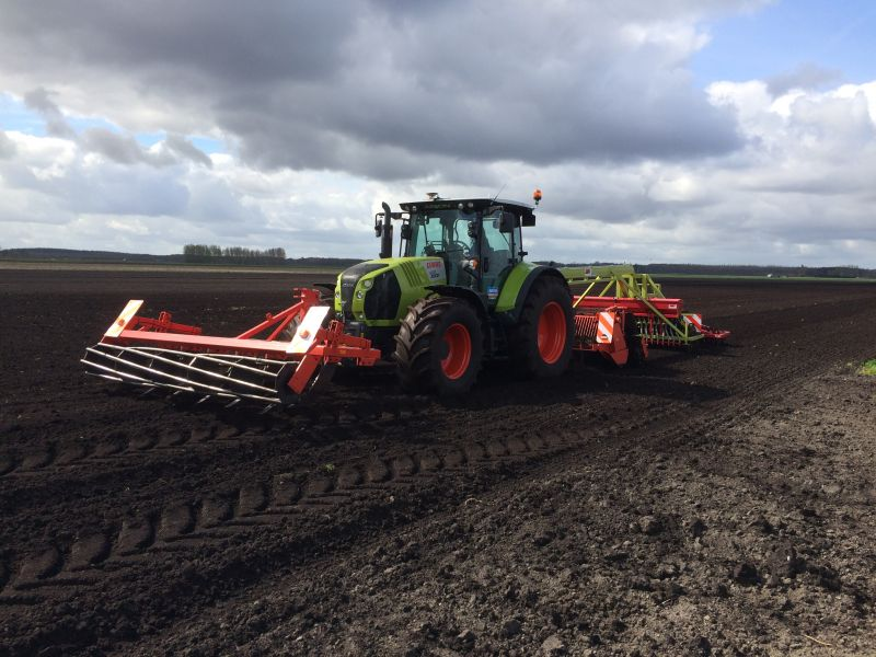 Claas Arion 650 Cmatic DEMO
